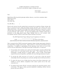 cover letter cover letter for a proposal basic cover letter for a