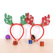 christmas headbands hot christmas reindeer antlers headband santa hair band