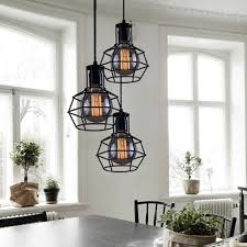 Vintage Wrought Iron Chandeliers Brilliant Industrial Lighting Fixtures Intended For Wrought Iron