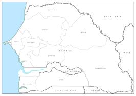 Dakar Senegal Map Mapaction Organisations Mapaction