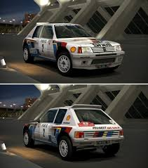 peugeot 205 group b peugeot 205 turbo 16 rally car u002785 by gt6 garage on deviantart