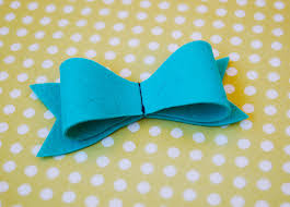 felt bows a free pattern and tutorial blog oliver s