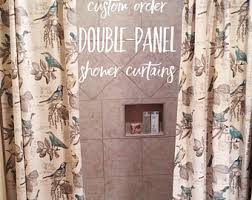 Custom Shower Curtains Custom Shower Curtain Etsy