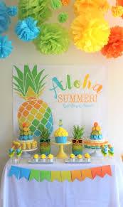 kara u0027s party ideas aloha summer party kara u0027s party ideas