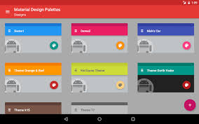 material design palettes android apps on google play