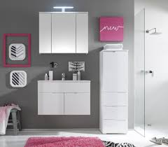 badezimmer set günstig badmöbel badezimmer ii 4tlg set in hochglanz weiss inkl
