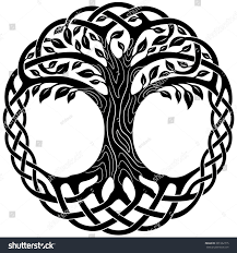 vector ornament decorative celtic tree stock vector 2018
