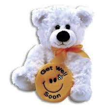 get well soon teddy plush get well soon 10 inch feel better