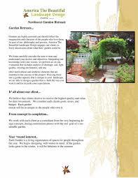 Designing The Beautiful by Portfolio America The Beautiful Landscaping Design Vancouver Wa