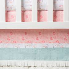Turquoise And Pink Baby Bedding Trend Lab 3pc Crib Bedding Set Wild Forever Target