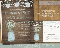 jar wedding invitations rustic wedding invitations 21st bridal world wedding ideas