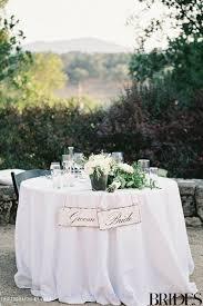 bride and groom sweetheart table one couple s italian inspired vineyard wedding in napa valley