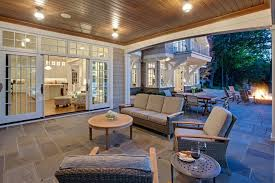 Enclosed Patio Windows Decorating Enclosed Covered Patio Ideas Patio Style With Wicker Patio
