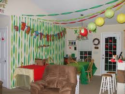 Party Decorations To Make At Home by Superb How To Make Decoration At Home For Christmas Amid