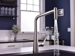 pull spray kitchen faucet hansgrohe kitchen faucets metris metris 2 spray higharc kitchen