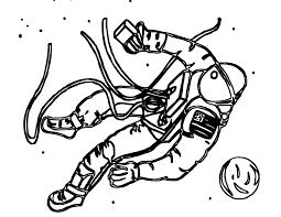 astronaut coloring pages coloringsuite com