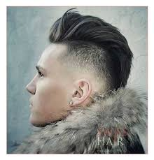 mens short hairstyles short sides long top along with mid length