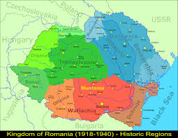 Hungary Map Europe by Map Of The Regions Of Greater Romania 1921 1940 With All The