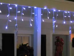 shooting star icicle lights lightshow shooting star icicle lights by gemmy youtube