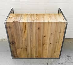 Custom Made Reception Desk Custom Made Reclaimed Pine Reception Desk Office Cubicle