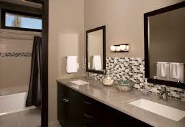 bathroom vanity backsplash ideas brilliant bathroom backsplash magnificent bathroom vanity