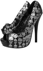 Skull High Heels Best 10 Skull Shoes Ideas On Pinterest Skull Heels Iron Fist