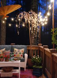 Outdoor Patio Lamp by Lighting Romantic Patio With Soft Outdoor Patio Hanging String