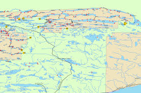 Beaver Lake Map Boundary Waters Routes Blog Bwca Bwcaw Quetico Park