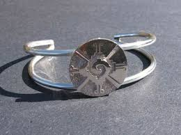 butterfly hunab ku bracelet in silver