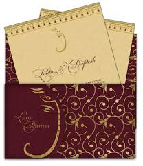 marriage invitation card sle email wedding card letter style design 19 luxury indian asian