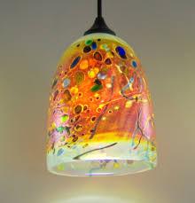 Pendant Lights Glass Art Glass Pendant Lighting Fixtures 13169
