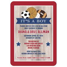 baby shower sports invitations for boy all stars sports rustic boy baby shower invitation boy babies