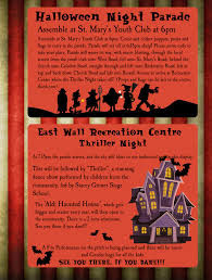 east wall halloween festival 2016 u2013 east wall for all