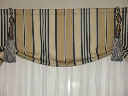 Blue Valance Curtains Brown And Blue Curtains Mainstays Holloway Window Curtain Panel