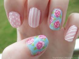 rose nail art how you can do it at home pictures designs rose