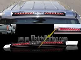 silverado third brake light cover matrix racing euro altezza tail lights clear projector headlights