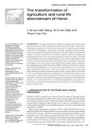 PDF Multifunctionality of Peri Urban Agriculture A Case Study in