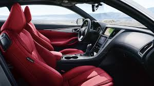 bmw red interior face off infiniti q60 vs bmw 4 series autonation drive