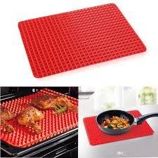 new creative useful pyramid pan silicone non stick fat reducing