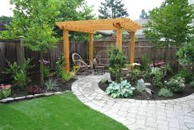 Simple Garden Landscaping Ideas Simple Backyard Landscaping Ideas Awesome Simple Backyard
