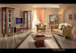 Tv Set Furniture Classic Giotto Lounge Arredoclassic Living Room Italy Collections