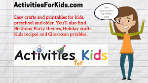 activitiesforkids com easy activities crafts and printables for