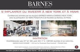 Barnes International Miami Conférences Barnes