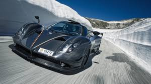 blue pagani wallpapers pagani u0027s incredible zonda lm top gear