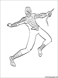 colouring picture spiderman amazing spider man 2 coloring pages