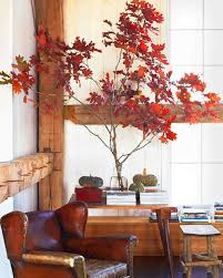 Fall Tree Decorations Decorating With Fall Colors Martha Stewart