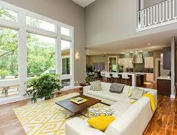teppich fã r esszimmer wohnzimmer farbgestaltung grau und gelb wohnzimmer muster