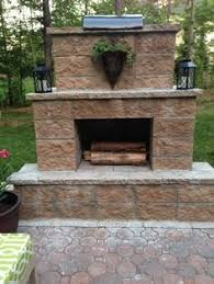 Outdoor Cinder Block Fireplace Plans - enjoy the summer months by bringing the indoors outside this site
