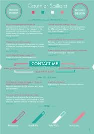 Sample Graphic Design Resume by 50 Awesome Resume Designs That Will Bag The Job Hongkiat