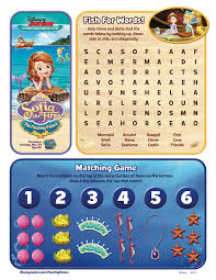 a sofia the first the floating palace activity for your kids